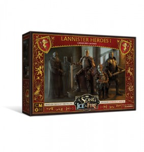 A SONG OF ICE AND FIRE: TABLETOP MINIATURES GAME LANNISTER HEROES 1