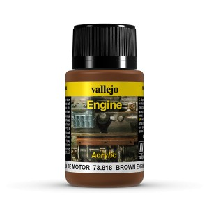 ENGINE EFFECTS - BROWN ENGINE SOOT 40 ML.