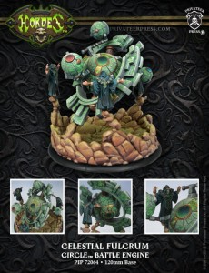 CIRCLE CELESTIAL FULCRUM BATTLE ENGINE  & RESIN