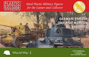1/72nd German 38T and Marder variants