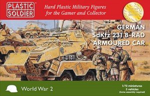 1/72nd German SdKfz 231 8 Rad Heavy Armoured Car