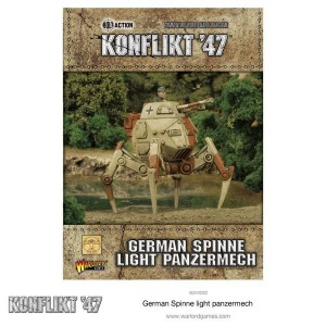 German Spinne Light Panzermech