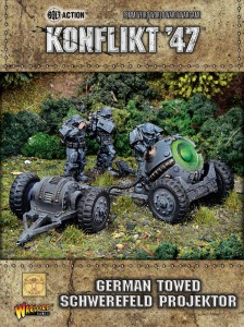 GERMAN TOWED SCHWEREFELD PROJEKTOR