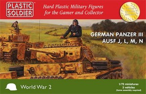 1/72nd Easy Assembly German Panzer III J, L. M and N Tank