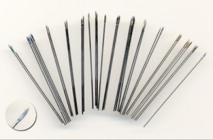 50MM SPEARS. SUITABLE FOR 15MM FIGURES AND 28MM JAVELINS (40)