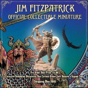 THE JIM FITZPATRICK OFFICIAL COLLECTIBLE MINIATURE
