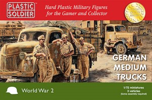 1/72nd German medium trucks