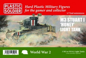 1/72ND ALLIED STUART I HONEY / M3 TANK