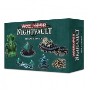 WH UNDERWORLDS: NIGHTVAULT ARCANE HAZARDS
