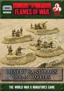 DESERT SANDBAGS - DUG IN MARKERS