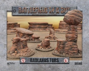 BADLANDS TORS