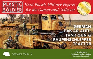 1/72nd Pak 40 and Raupenschlepper Ost
