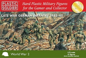 1/72nd Late War German Infantry 1943-45