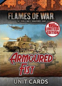 ARMOURED FIST UNIT CARDS