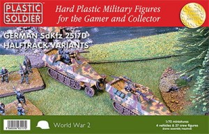 1/72nd German Sdkfz 251/D Variants kit