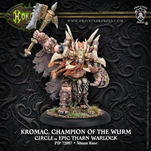 CIRCLE EPIC KROMAC CHAMPION OF THE WURM  INC RESIN