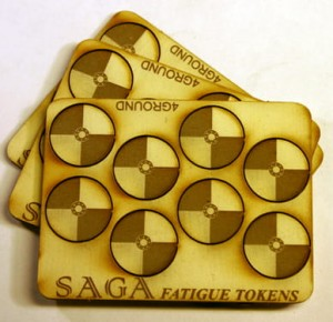 MDF Fatigue Markers - Round Shields