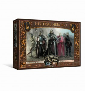 A SONG OF ICE AND FIRE: TABLETOP MINIATURES GAME NEUTRAL HEROES 1