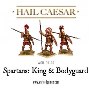 SPARTAN KING & BODYGUARD [MADE TO ORDER]