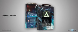 TOHAA D20 DICE SET