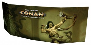 CONAN: GAMEMASTER SCREEN + GAMESMASTER TOOLKIT