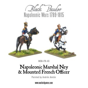MARSHAL NEY & MOUNTED FRENCH OFFICER