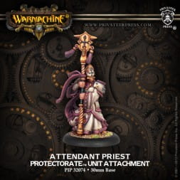 PROTECTORATE ATTENDANT PRIEST