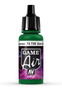 GAME AIR 72729 SICK GREEN