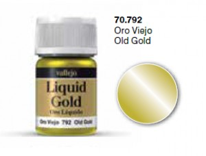 LIQUID GOLD 70792 OLD GOLD (METALIZER 35ML)