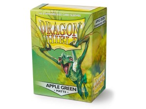 DRAGON SHIELD APPLE GREEN MATTE (100SZT.)
