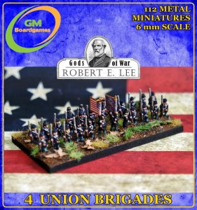 4 UNION INFANTRY BRIGADES