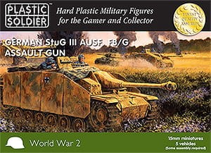 15mm Easy Assembly German Stug III F8/G Assault Gun