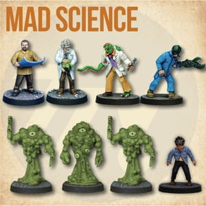 STARTER CAST: MAD SCIENCE (8)