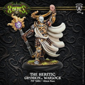 GRYMKIN THE HERETIC  INC RESIN