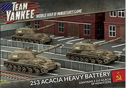 ACACIA HEAVY SP HOWITZER BATTERY (X3)