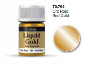 LIQUID GOLD 70794 RED GOLD (METALIZER 35ML)