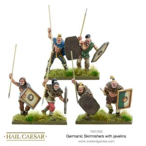 GERMANIC SKIRMISHERS WITH JAVELINS [MADE TO ORDER]