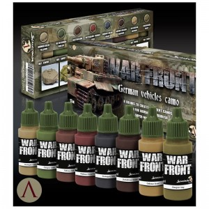 SCALE 75 PAINT SET - GERMAN VEHICLES CAMO