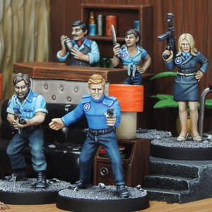 DANGER 5 BOX SET (8)
