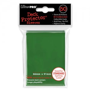 ULTRA PRO DECK PROTECTOR - SOLID GREEN 50
