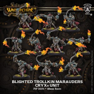 CRYX UNIT BLIGHTED TROLKIN MARAUDERS (10)