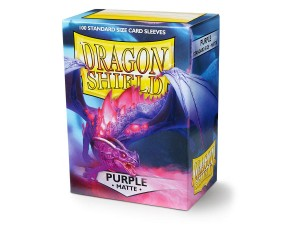 DRAGON SHIELD PURPLE MATTE (100SZT.)