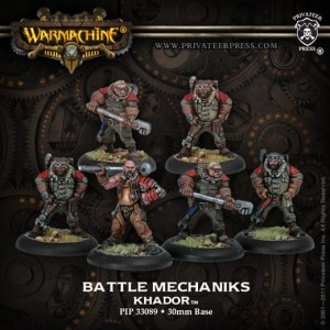 KHADOR BATTLE MECHANIKS (6) REPACK