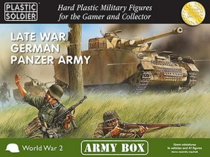 15mm Late War German Panzer Army