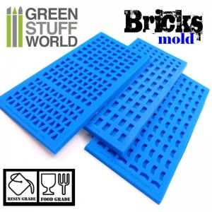 BRICK TEXTURE SILICONE STAMP