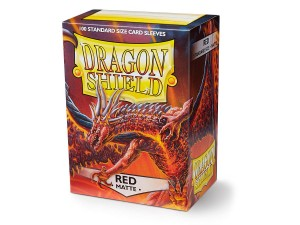 DRAGON SHIELD RED MATTE (100SZT.)