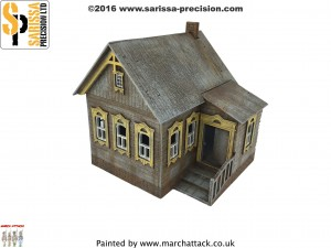 20MM RUSSIAN VILLAGE HOUSE 1