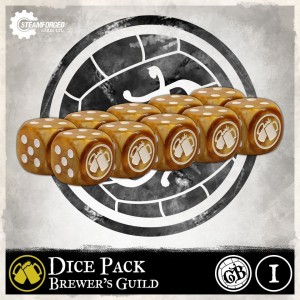 BREWER'S DICE PACK X10