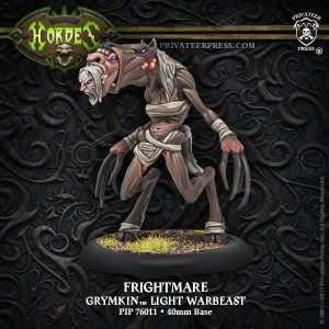 GRYMKIN WARBEAST FRIGHTMARE  ALL METAL IN THE EU