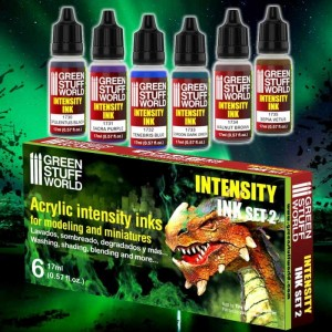 PAINT SET - INTENSITY INK ACRYLIC PAINTS - SET 2